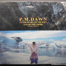 Discos de vinilo: P.M. DAWN – OF THE HEART, OF THE SOUL AND OF THE CROSS: THE UTOPIAN EXPERIENCE 1 LP. SPAIN 1991. Lote 132476666