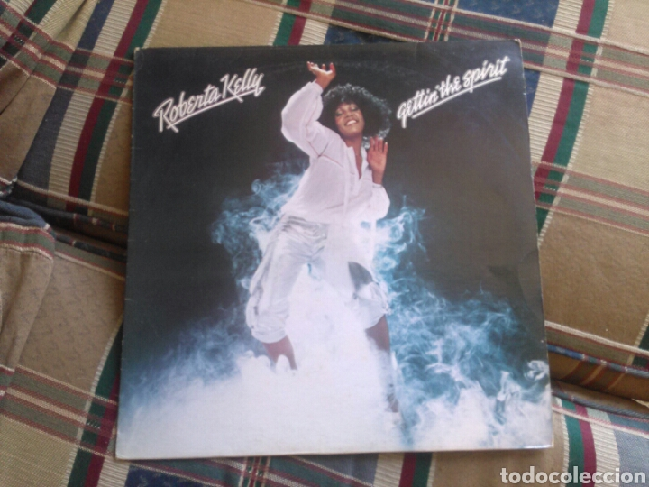 ROBERTA KELLY LP GETTIN THE SPIRIT 1978 ED FRANCESA (Música - Discos - LP Vinilo - Funk, Soul y Black Music)
