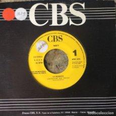 Discos de vinilo: JOSE NATIVIDAD NATY MARTINEZ - LA PERDISTE . SINGLE .1990 CBS PROMO. Lote 132481314