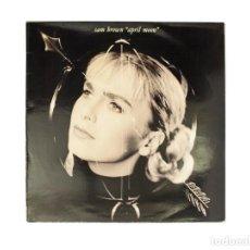 Discos de vinilo: LP. SAM BROWN. APRIL MOON. (VG/VG+). Lote 132484074