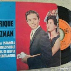 Discos de vinilo: ENRIQUE GUZMAN -EP 1963 --PEDIDO MINIMO 3 EUROS. Lote 132488590