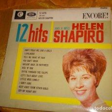 Discos de vinilo: 12 HITS AND MISS HELEN SHAPIRO. ENCORE ¡ , 1961. EDIC. INGLESA. IMPECABLE. Lote 132502750