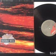 Discos de vinilo: DISCO LP VINILO SEGURIDAD SOCIAL ¡ QUE NO SE EXTINGA LA LLAMA ! DE 1991. Lote 132502834