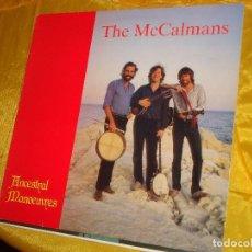 Discos de vinilo: THE MCCALMANS. ANCESTRAL MANOEUVRES. 1984. EDIC. INGLESA. CON ENCARTE Y FIRMADO POR LOS AUTORES. Lote 132504838