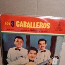 Discos de vinil: LOS TRES CABALLEROS EP SEÑORITA + 3 TEMAS. Lote 132509810