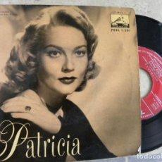 Discos de vinilo: 4 GRANDES ORQUESTAS -PATRICIA -EP 1958 -PEDIDO MINIMO 3 EUROS. Lote 132511334