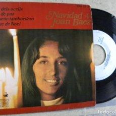 Discos de vinilo: JOAN BAEZ -NAVIDAD -EP 1968 -PEDIDO MINIMO 3 EUROS. Lote 132514082