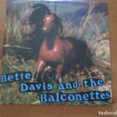 Discos de vinilo: BETTE DAVIS AND THE BALCONETTES SHERGAR/ WHITE FOOD DAMAGED GOOD 1997 INDIE. Lote 132518050