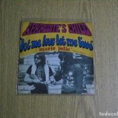 Discos de vinilo: APHORODITE´S CHILD -- LET ME LOVE LET ME LIVE--MARIE JOLI -- UNICO MUY BUSCADO --. Lote 132524146