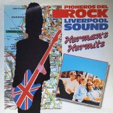 Discos de vinilo: HERMAN'S HERMITS - PIONEROS DEL ROCK. LIVERPOOL SOUND (ESPAÑA, 1986). Lote 132528122