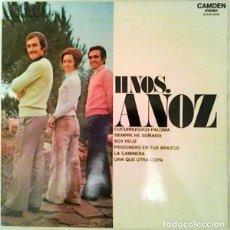 Discos de vinilo: HERMANOS ANOZ – HNO. ANOZ (ESPAÑA, 1972). Lote 132528254
