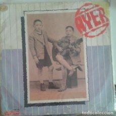 Discos de vinilo: HERMANOS CALATRAVA – AYER / HOY (ESPAÑA, 1970). Lote 132528362