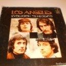Discos de vinilo: SINGLE LOS ANGELES. EVOLUCION. TE NECESITO. HISPAVOX 1972 SPAIN (PROBADO Y BIEN) . Lote 132530346