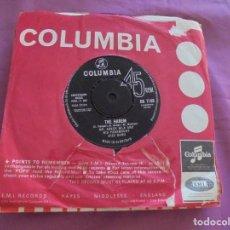 Discos de vinilo: MR. ACKER BILK & PARAMOUNT JAZZ BAND. TRAIN SONG / THE HAREM. COLUMBIA 1963. EDC. INGLESA. IMPECABLE. Lote 132546386
