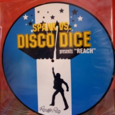 Discos de vinilo: SPANK VS. DISCO DICE PICTURE DISC. Lote 132547475