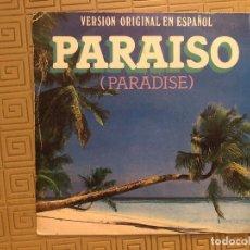 Discos de vinilo: CLAUDIA DE COLOMBIA ?– PARAÍSO (PARADISE) SELLO: CBS ?– CBS A 2682 FORMATO: 7. Lote 132550454