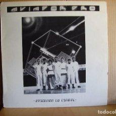 Discos de vinilo: AVIADOR DRO ---- PROGRAMA EN ESPIRAL - MAXI. Lote 132551134