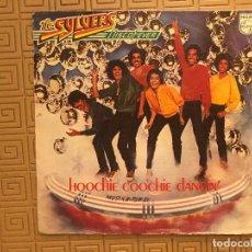 Discos de vinilo: THE SYLVERS ?– HOOCHIE COOCHIE DANCIN' SELLO: PHILIPS ?– 61 75 018 - SPAIN 1978. Lote 132551526