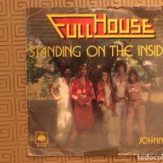 Discos de vinilo: FULL HOUSE – STANDING ON THE INSIDE SELLO: CBS ?– CBS 4146, CBS ?– 4146. Lote 132554598