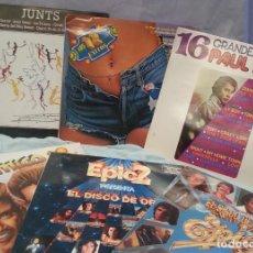 Discos de vinilo: DISCOS LPS MÚSICA POP. COLECCIÓN DE 6 DISCOS EN PERFECTO ESTADO.. Lote 132560210