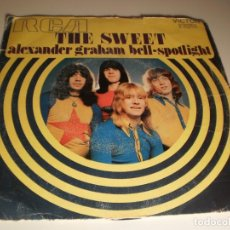 Discos de vinilo: SINGLE THE SWEET. ALEXANDER GRAHAM BELL. SPOTLIGHT. RCA 1971 SPAIN (DISCO PROBADO Y BIEN). Lote 132564734