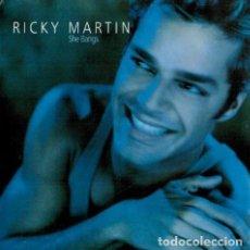Discos de vinilo: RICKY MARTIN - SHE BANGS (3 VERSIONES) - COLUMBIA COL 669683 6 - 2000 - EDICIÓN ALEMANA. Lote 132566738