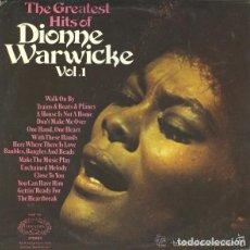 Discos de vinilo: DIONNE WARWICKE– THE GREATEST HITS OF DIONNE WARWICKE VOL. 1 - LP UK 1972. Lote 132576394