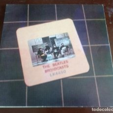 Discos de vinilo: THE BEATLES - BROADCASTS / THE DECCA TAPES - DOBLE 2.LP - IMPORTACION - ENVIO GRATIS. Lote 132582814