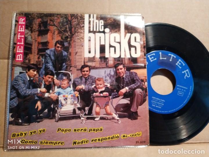 THE BRISKS BABY BABY YE YE+ 3 TEMAS (Música - Discos de Vinilo - EPs - Grupos Españoles 50 y 60)