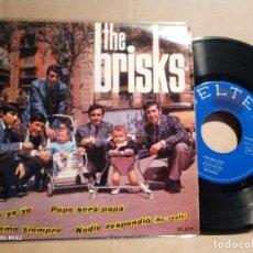 Discos de vinilo: THE BRISKS BABY BABY YE YE+ 3 TEMAS. Lote 132584810