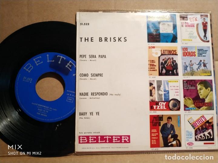 Discos de vinilo: THE BRISKS BABY BABY YE YE+ 3 TEMAS - Foto 2 - 132584810