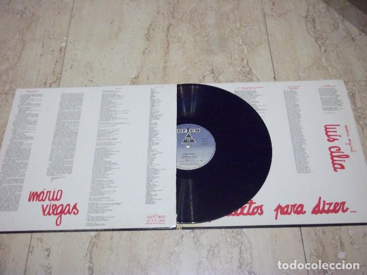 Discos de vinilo: Mário Viegas, Luis Cilia – Pretextos Para Dizer...ORIGINAL 1978 .GATEFOLD COVER- Orfeu – STAT 066- - Foto 3 - 132588506
