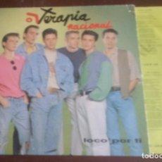 Discos de vinilo: TERAPIA NACIONAL - LP - 1991 - CON ENCARTE. Lote 132588526