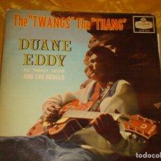 Discos de vinilo: DUANE EDDY AND THE REBELS. THE TWANG´S THE THANG. LONDON, 1959. EDIC. INGLESA. Lote 132590158