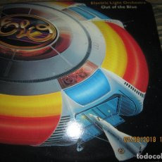 Discos de vinilo: ELECTRIC LIGHT ORCHESTRA - OUT OF THE BLUE DOBLE LP - ORIGINAL U.S.A. - U.A. 1977 GATEFOLD Y FUNDAS. Lote 132590646