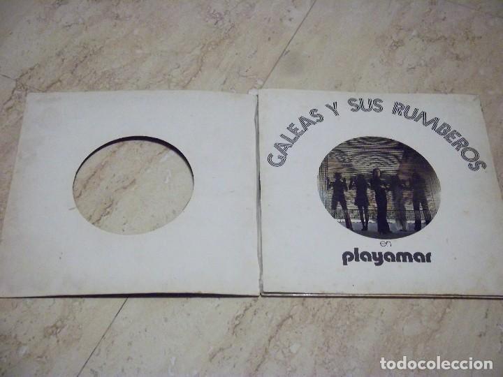 Discos de vinilo: LOTE DOS LP -GALEAS Y SUS RUMBEROS EN PLAYAMAR / JESUS Y LOS MARISMAS -RUMBA!! Y SE FELIZ - Foto 3 - 132592582