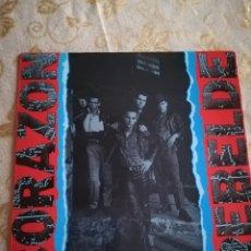 Discos de vinilo: CORAZON REBELDE, LP VINILO AÑO 84 DRO. Lote 132592651