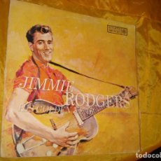 Discos de vinilo: JIMMIE RODGERS. HIS GOLDEN YEAR. ROULETTE, 1959 . EDIC. SOUTH AFRICA . IMPECABLE. Lote 132593866