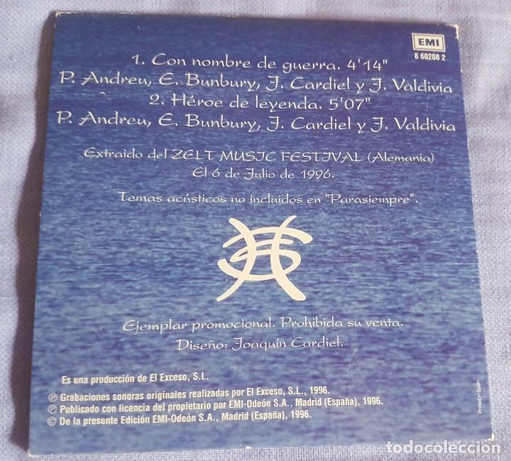 Discos de vinilo: Héroes del silencio cd promocional - Foto 3 - 132599622