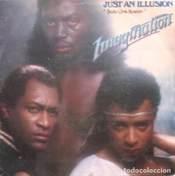 IMAGINATION – JUST AN ILLUSION = SOLO UNA ILUSIÓN (ESPAÑA, 1982) (Música - Discos - Singles Vinilo - Funk, Soul y Black Music)
