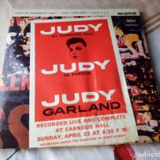 Discos de vinilo: JUDY GARLAND ?– JUDY AT CARNEGIE HALL - JUDY IN PERSON.1961. 2 LPS. Lote 132605954