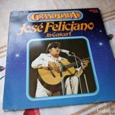 Discos de vinilo: JOSÉ FELICIANO ?– GRAND GALA - JOSÉ FELICIANO IN CONCERT.1980. Lote 132606134