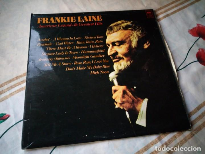 FRANKIE LAINE ?– AMERICAN LEGEND -16 GREATEST HITS.1977 (Música - Discos - LP Vinilo - Country y Folk)