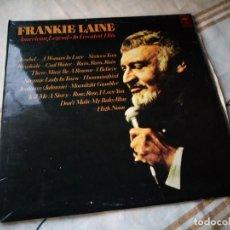 Discos de vinilo: FRANKIE LAINE ?– AMERICAN LEGEND -16 GREATEST HITS.1977. Lote 132606290