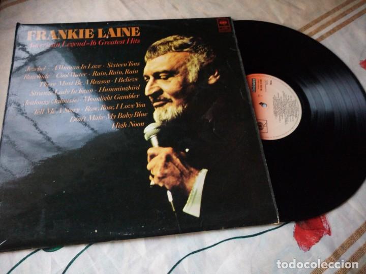 Discos de vinilo: Frankie Laine ?– American Legend -16 Greatest Hits.1977 - Foto 3 - 132606290
