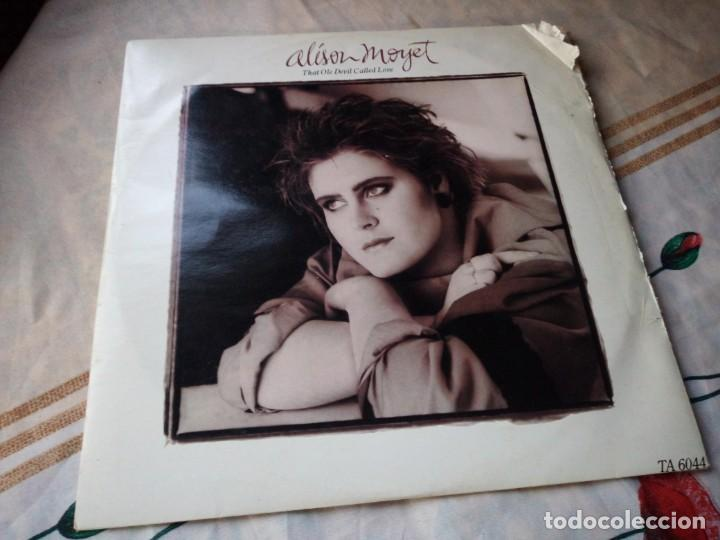 ALISON MOYET ?– THAT OLE DEVIL CALLED LOVE.1985 (Música - Discos de Vinilo - Maxi Singles - Jazz, Jazz-Rock, Blues y R&B)