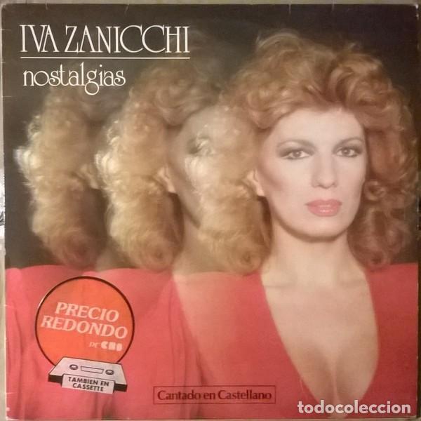 IVA ZANICCHI - NOSTALGIAS (ESPAÑA, 1983) (Música - Discos - LP Vinilo - Canción Francesa e Italiana)