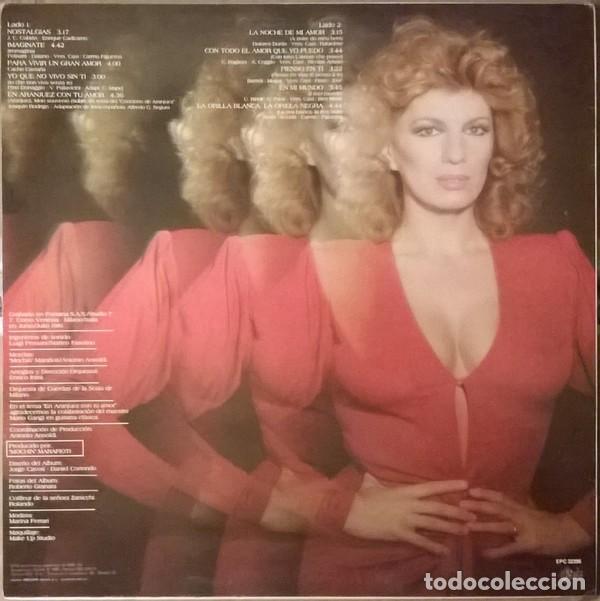 Discos de vinilo: Iva Zanicchi - Nostalgias (España, 1983) - Foto 2 - 132606994