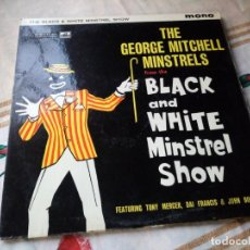 Discos de vinilo: THE GEORGE MITCHELL MINSTRELS - THE BLACK AND THE G MINSTREL SHOW -LP HIS MASTER'S VOICE 1960 UK BPY. Lote 132607058