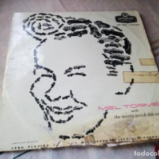 Discos de vinilo: MEL TORMÉ WITH THE MARTY PAICH DEK-TETTE , MEL TORMÉ AND THE MARTY PAICH DEK-TETTE.1956. Lote 132609070